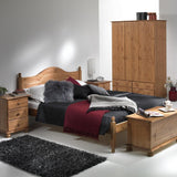 Copenhagen Pine Package - Bedside - Bedside - Double Bed Furniture Sets
