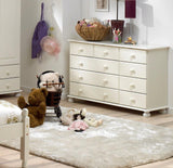 White Wide Chest Of Drawers