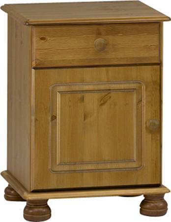 Bedside Table with Drawer & Door