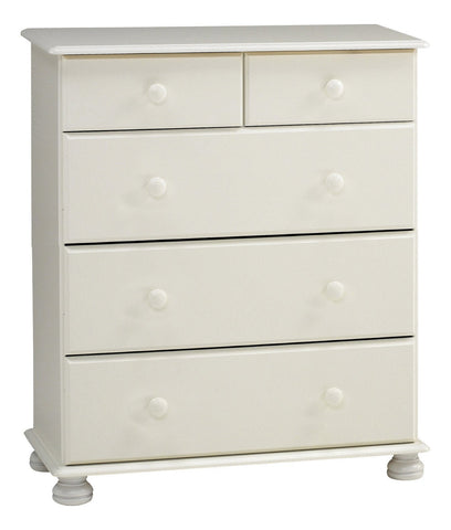 White Chest Of Drawers 2 Over 3
