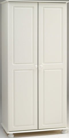 White Double Wardrobe