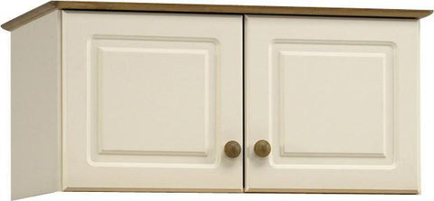 Cream Wooden Top Box For Wardrobe