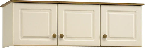 Cream & Pine Painted Wardrobe Top Box