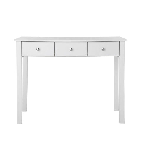 Florence 3 Drawer Dressing Table in White