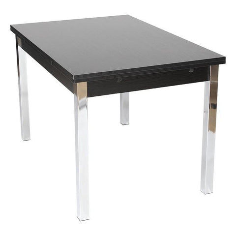 Extending Dining Table 120cm ext to 187cm Black Ash