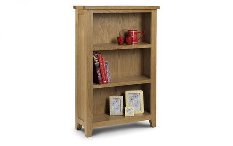 Astoria Low Bookcase - Fully Assembled
