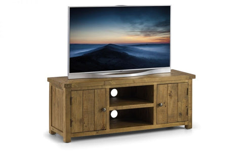Aspen Widescreen TV Unit - Fully Assembled