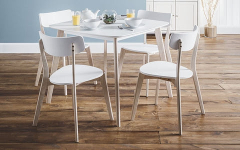 Casa Retro Look Dining Set With Chairs