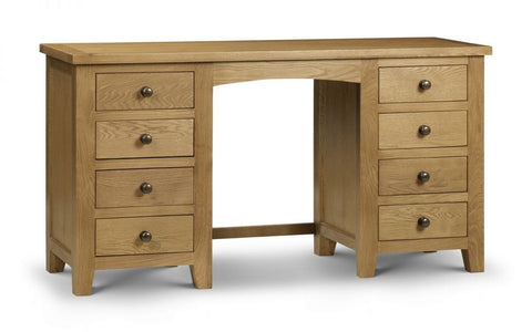 Marlborough Twin Pedestal Dressing Table - Fully Assembled