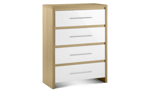 Stockholm 4 Drawers Chest