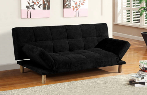 Versatile 3 Seater Fabric Sofa Bed - 3 Colours
