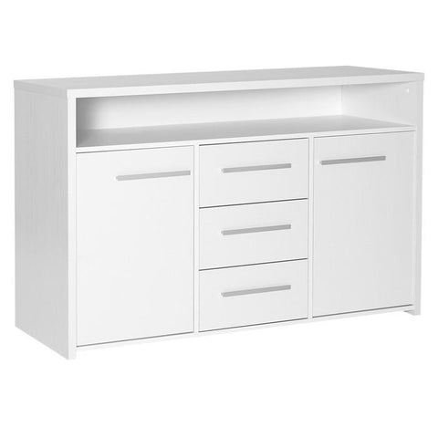 Designa 3 Drawer 2 Door Sideboard White