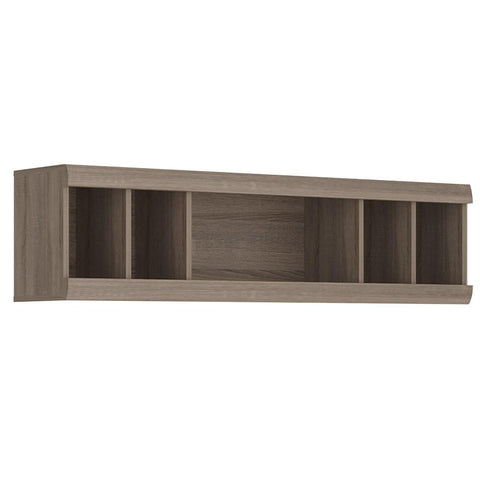 Park Lane Wall Unit in Oak/Champagne