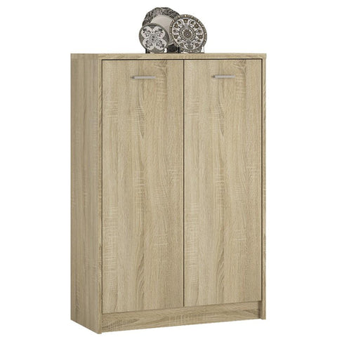 4 You Tall 2 Door Cupboard in Sonama Oak