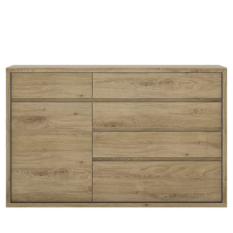 Shetland 1 Door 5 drawer cupboard