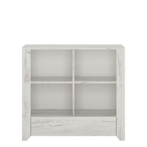 Angel 1 Drawer Low Bookcase