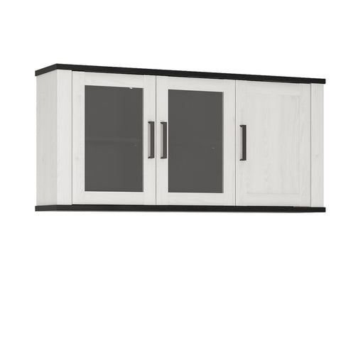Provence 3 door glazed wall cabinet