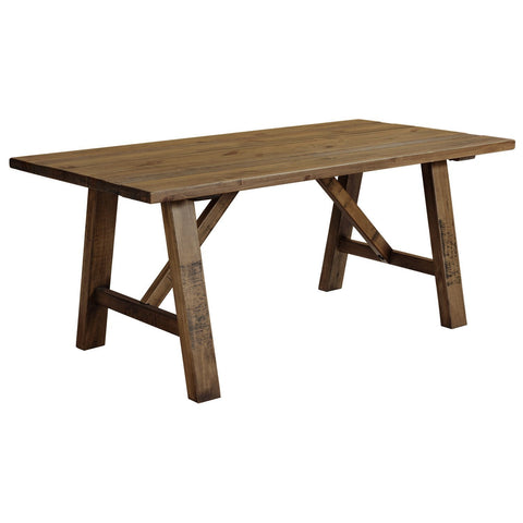 Cotswold Rustic Trestle Dining Table