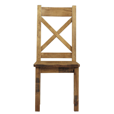Rustic Wooden Dining Chair