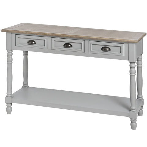Churchill 3 Drawer Console Table