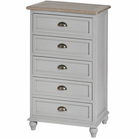 Churchill 5 Drawers Tallboy Chest