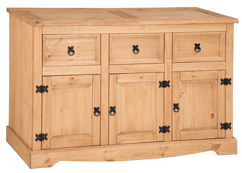 Corona 3 Door & 3 Drawer Sideboard