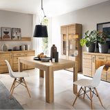 Cortina Extending dining table in Grandson Oak Finish