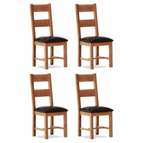 Orland Oak Large Chair (Set of 4) – Assembled