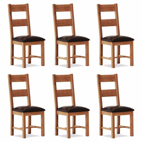 Orland Oak Large Chair (set of 6) – Assembled