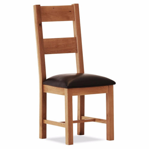 Orland Oak Large Chair – Assembled