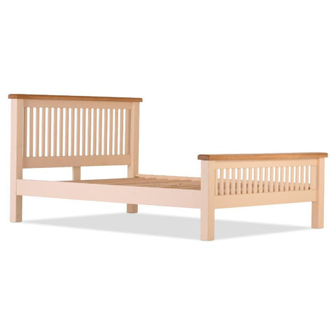 Jenison Oak Slatted 5ft Bed