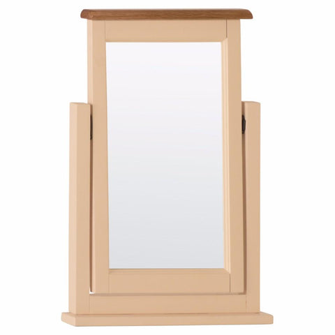 Jenison Oak Single Dressing Mirror - Assembled