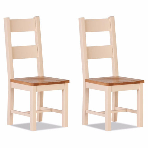 Jenison Oak Dining Chair (Set of 2) – Assembled
