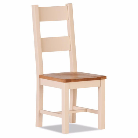 Jenison Oak Dining Chair – Assembled