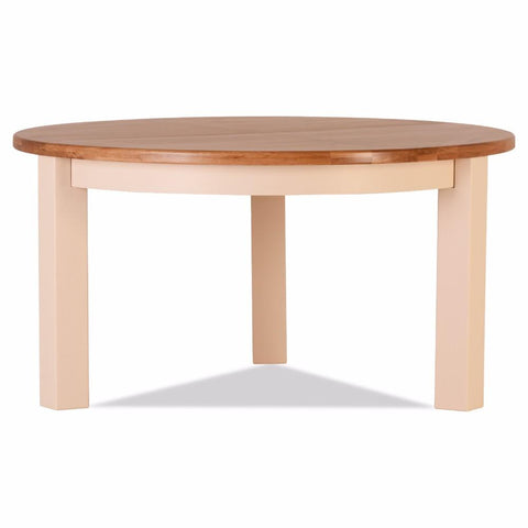 Jenison Oak Round 1.5 Metre Dining Table