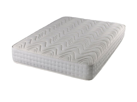 Deep Luxury  (25cm) 1000 Pocket Sprung Mattress With Memory Foam