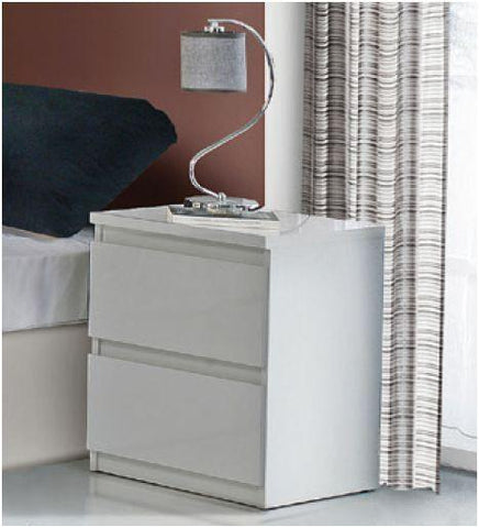 Wessex Gloss 2 Bedside Cabinet