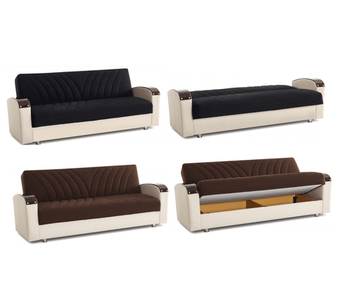 Taylor 3 Seater Sofa Bed With Storage