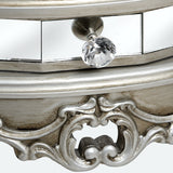 Argente Mirrored Dressing Table & Stool
