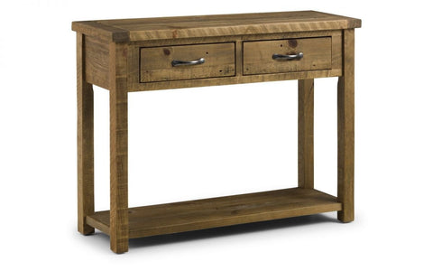 Aspen Console Table with 2 Drawers