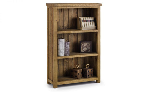 Aspen Low Bookcase - Fully Assembled