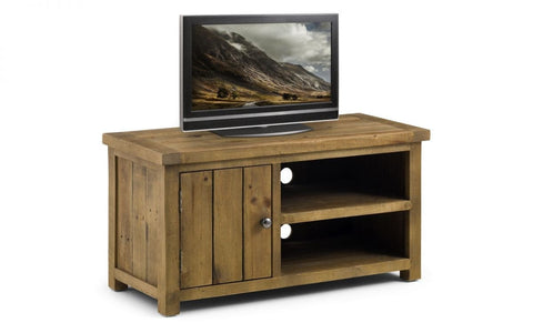 Aspen Compact TV Unit - Fully Assembled