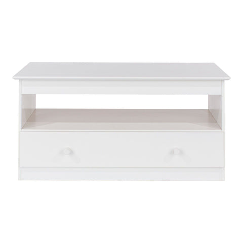 Core Products Aspen TV Unit - Wooden Painted White