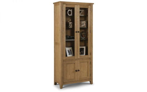 Astoria Glazed Display Cabinet - Fully Assembled