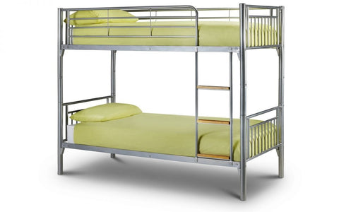 Atlas Bunk Bed - Aluminium Finish