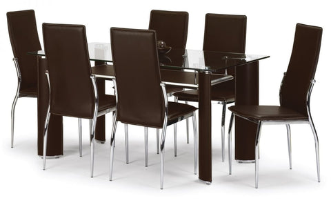 Boston Dining Table Set (With 4 or 6 Chairs)