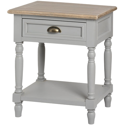 Churchill 1 Drawer Bedside Table