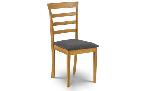 Cleo Dining Chair In Natural Oak Finish