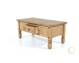 Corona Pine Coffee Table With Drawer