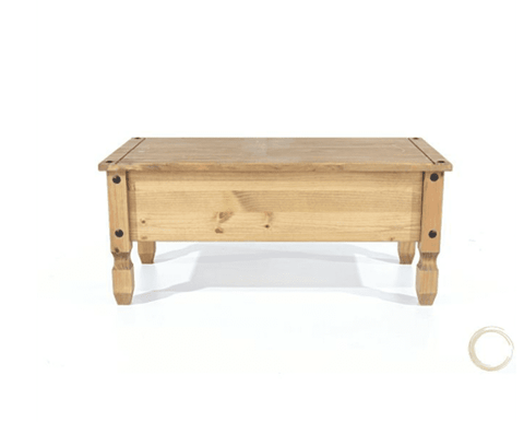 Corona Pine Coffee Table With Drawer Discountsland Co Uk